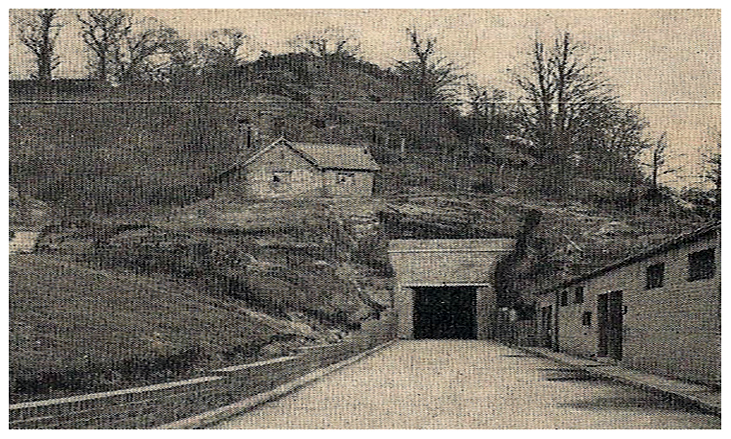 drakelow-tunnels-tunnel-1-entrance-1962